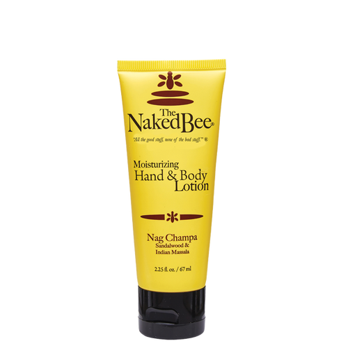 2.25 oz. Nag Champa Hand & Body Lotion - The Naked Bee
