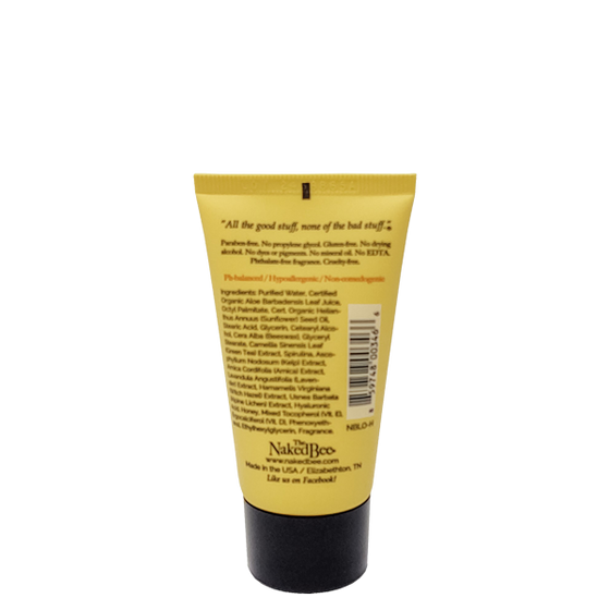 Travel Orange Blossom Honey Lotion 1.5 oz. - The Naked Bee