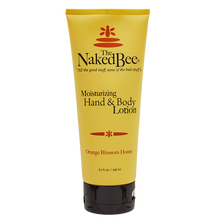 6.7 oz. Orange Blossom Honey Hand & Body Lotion - The Naked Bee