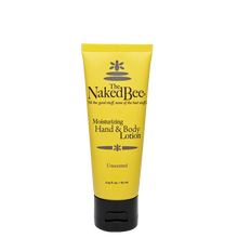 2.25 oz. Unscented Hand & Body Lotion - The Naked Bee