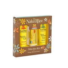 Orange Blossom Honey Mini Bee Kit - The Naked Bee