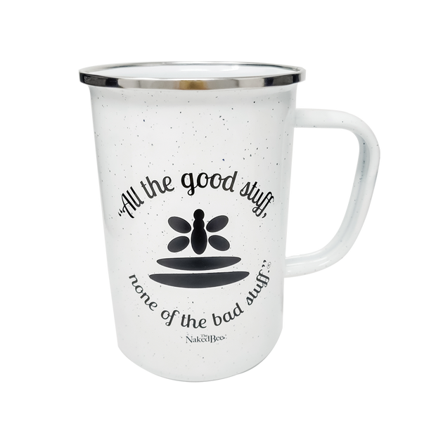"22 oz. ""All the good stuff"" Campfire Coffee Mug"