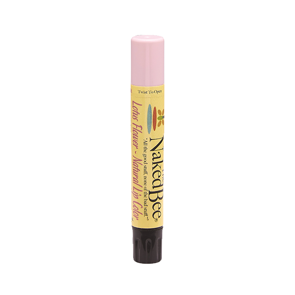 Lotus Flower Shimmering Lip Color - The Naked Bee