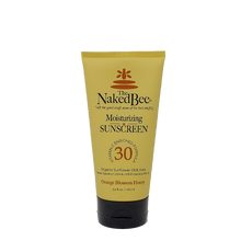 5.5 oz. Orange Blossom Honey SPF 30 Moisturizing Sunscreen - The Naked Bee