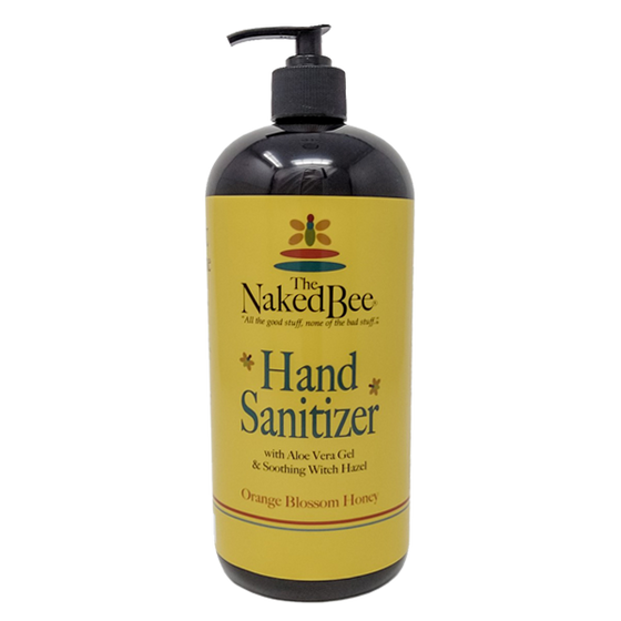 32 oz. Hand Sanitizer in Orange Blossom Honey - The Naked Bee