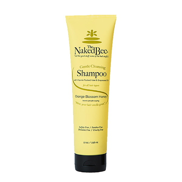 Orange Blossom Honey Gentle Cleansing Shampoo - 10oz - The Naked Bee