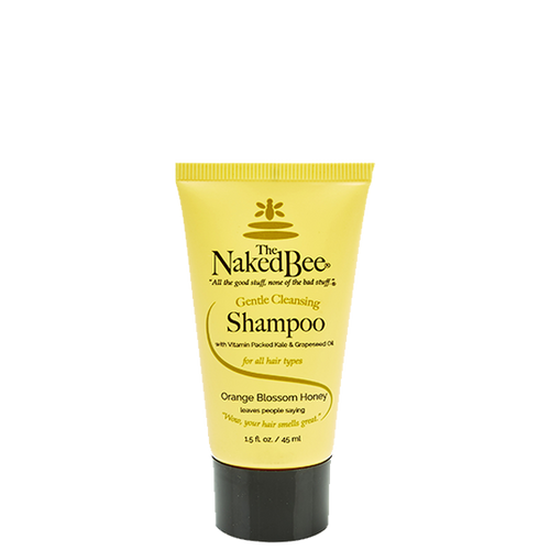 Travel Gentle Cleansing Shampoo 1.5 oz. - The Naked Bee