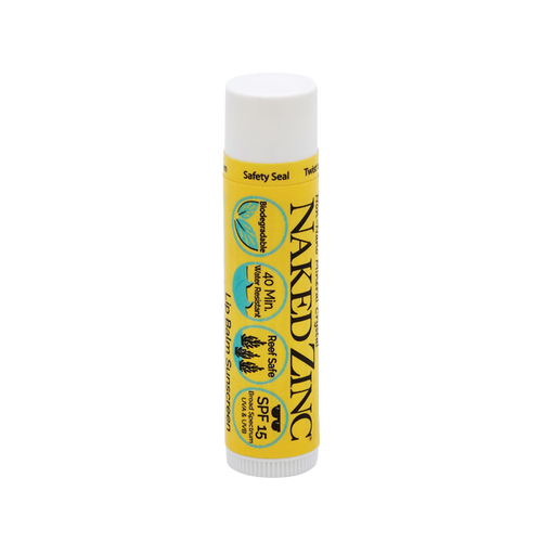 Naked Zinc SPF 15 Reef-Safe Lip Balm