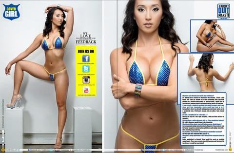 Bitsys Bikinis 2017 Line Featured In Modelzview Magazine!