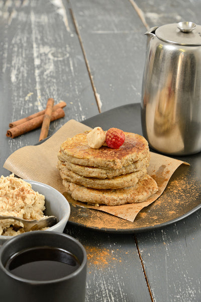 Banting Blvd's Flapjacks with Espresso Butter
