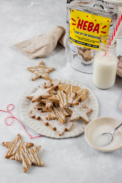 Spiced HEBA Christmas Cookies