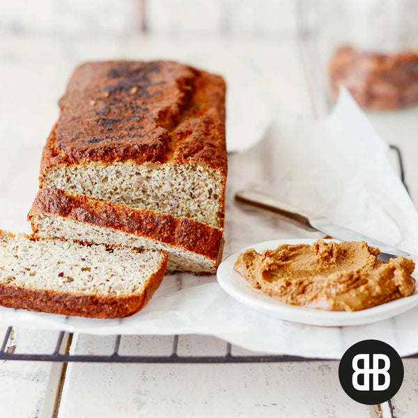 BANTING BLVD Seed and Almond Loaf with sunflower seed nut butter