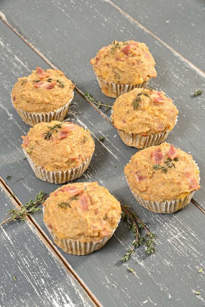 Banting Blvd's Bacon & Cheddar Muffins