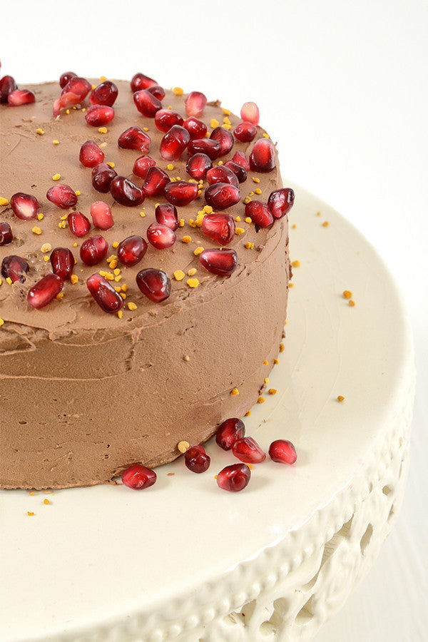 Banting Blvd's Chocolate Cake with Mocha Frosting
