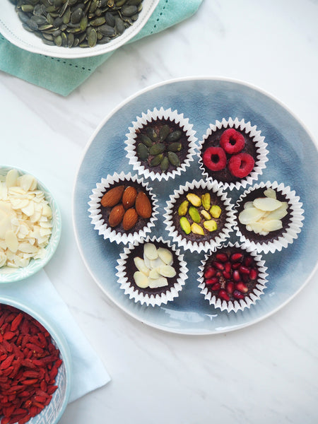 Top it off: flavour combinations for your No-Bake Almond Clusters