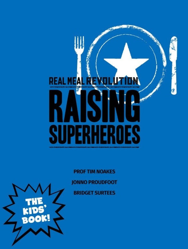Raising Superheroes - Cookbook | Banting Blvd