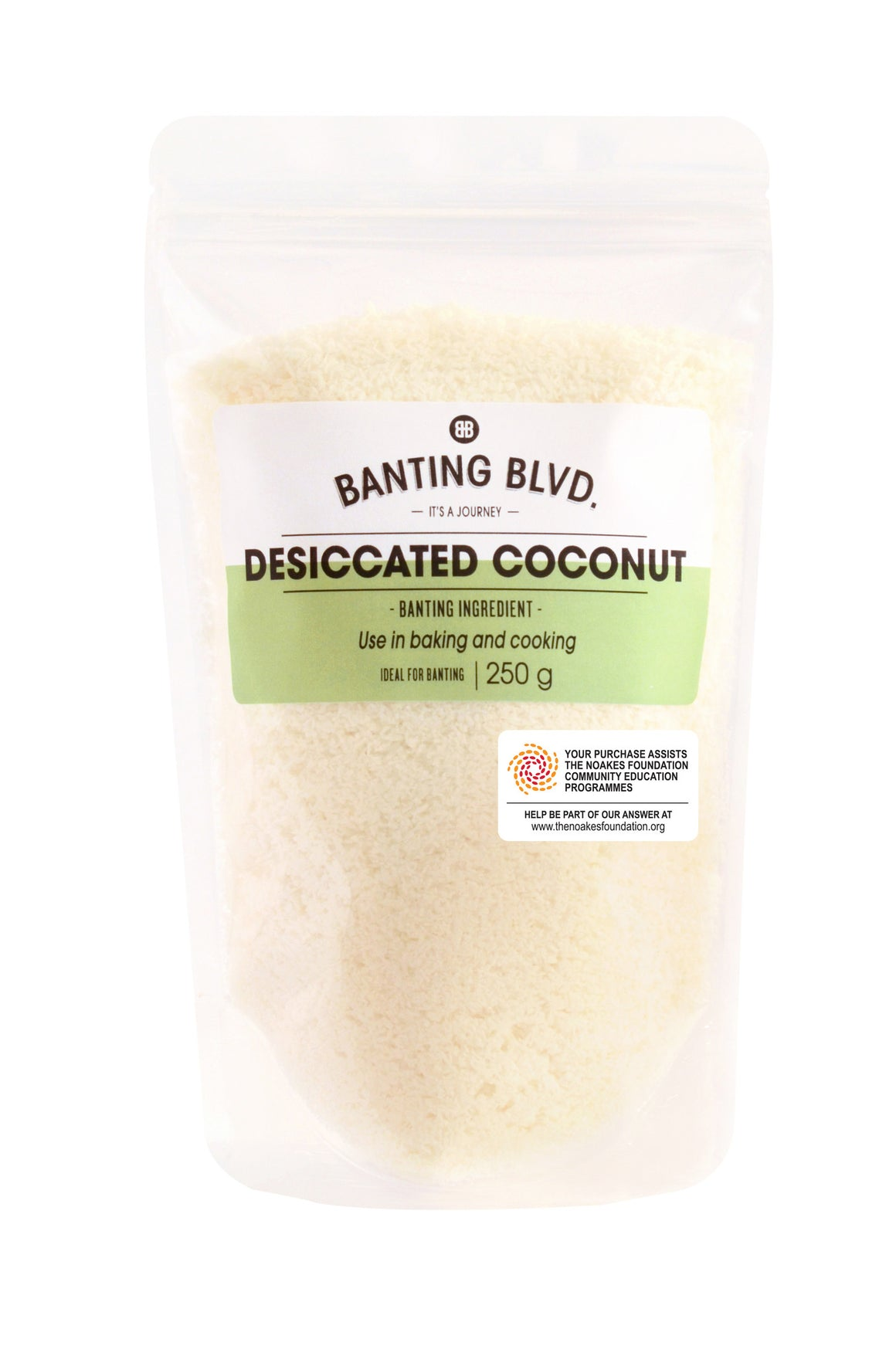 Desiccated Coconut | Banting Blvd