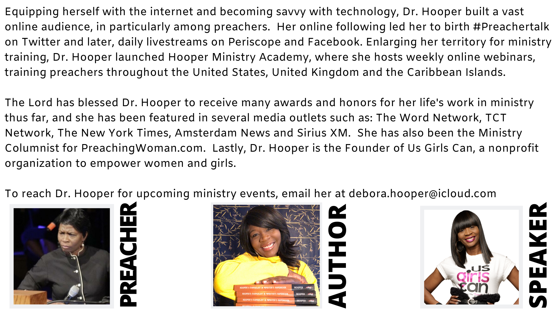 About Dr. Debora Hooper