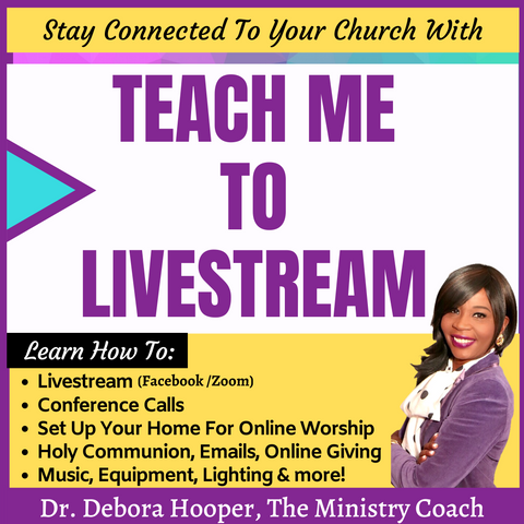 Teach Me To Livestream (For Ministry Leaders)