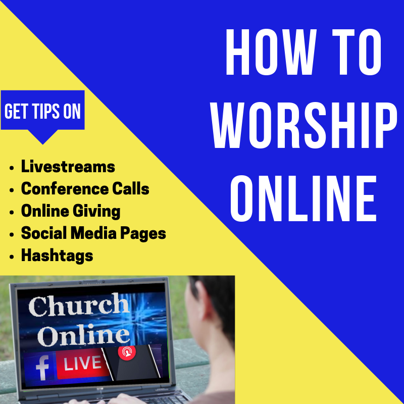 How To Worship Online!