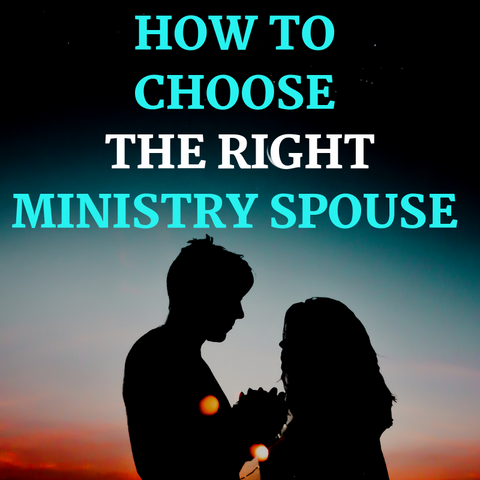 How To Choose The Right Spouse