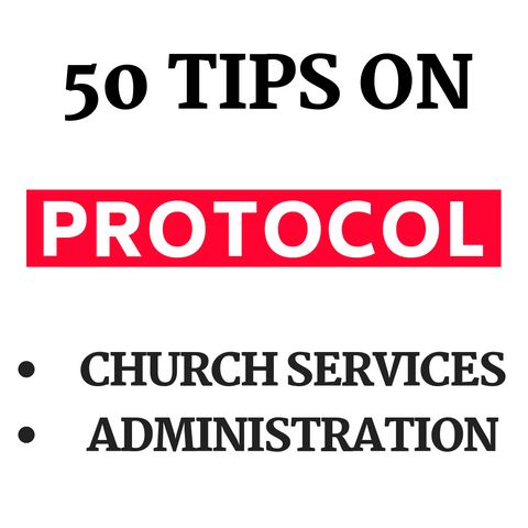 50 Tips On Protocol
