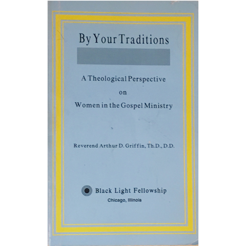 Book - By Your Traditions