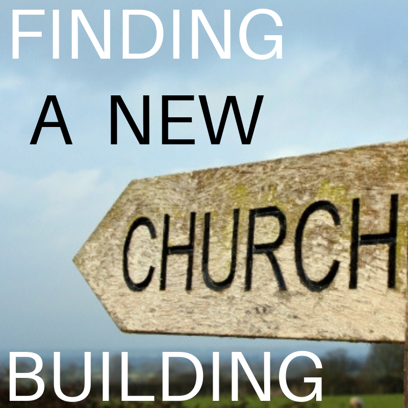 Finding A New Church Building