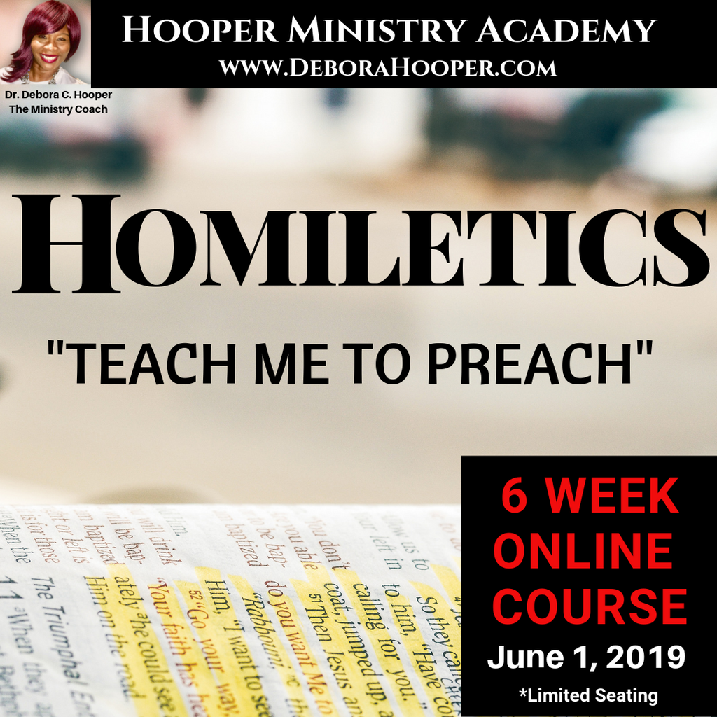 Homiletics - The Art of Preaching (6 Week Course)