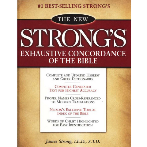 Book - How To Use The Strong's Concordance