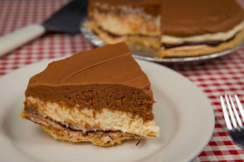 5 Layer Chocolate Pie