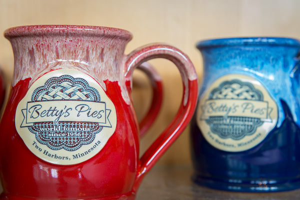 Red or Blue Ceramic Mug