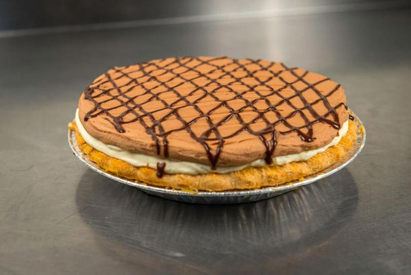 Whole Chocolate Banana Pie