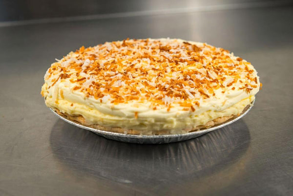 Whole Coconut Cream Pie
