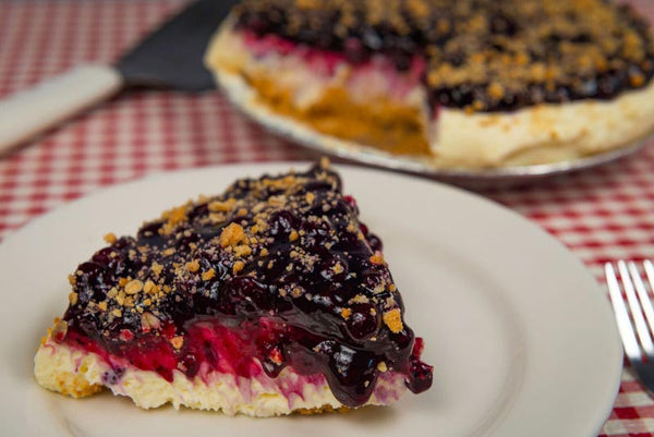 French Blueberry Pie