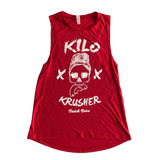 Kilo Krusher Muscle Tank - Red