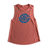 Empower Muscle Tank - Sunset Orange