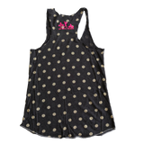 Lift Like a Babe Racerback Tank - Dots