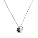 Mini Kettlebell Sterling Silver Necklace