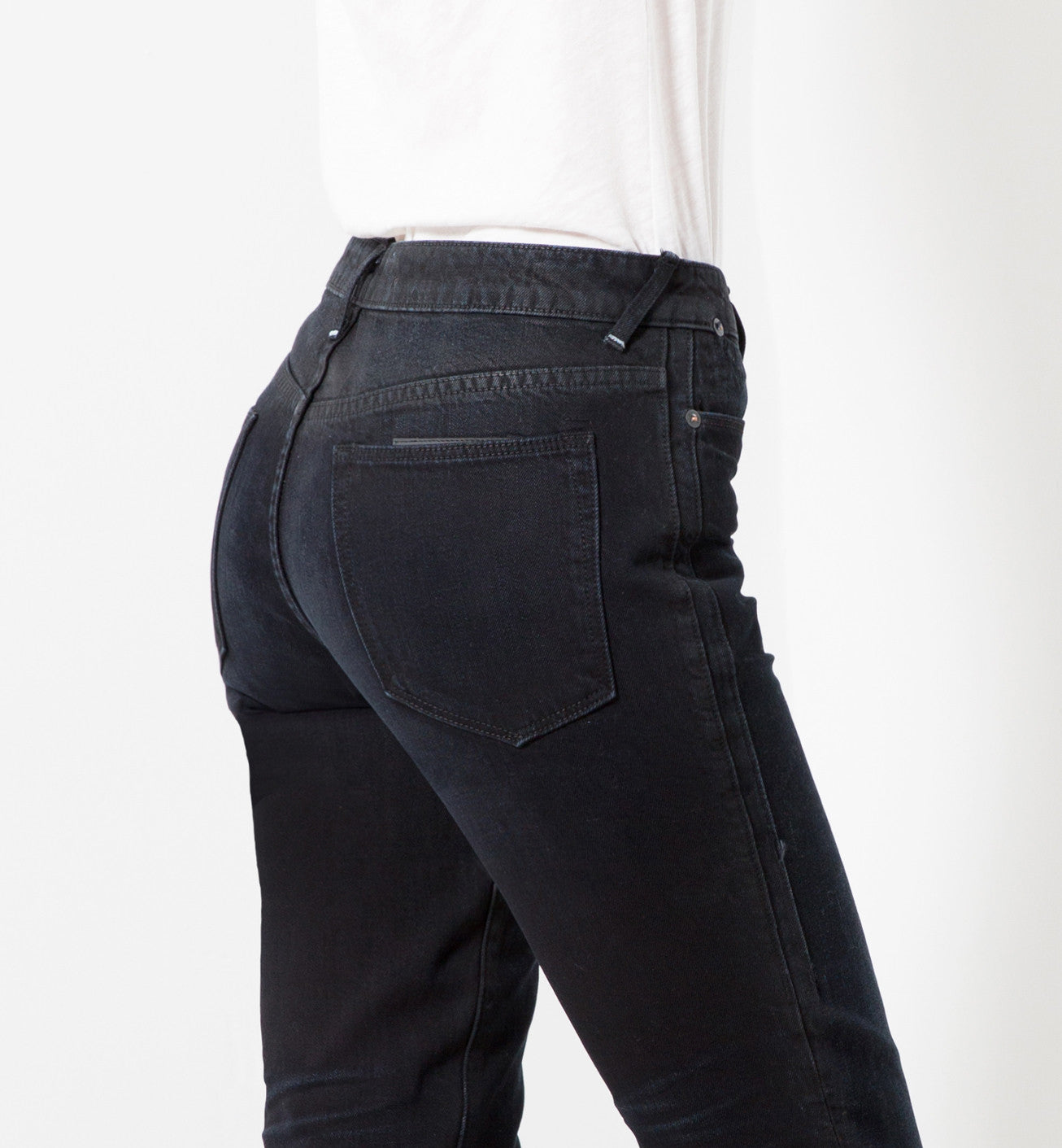 HIGH RISE SLIM in BEDFORD | MADE TO ORDER