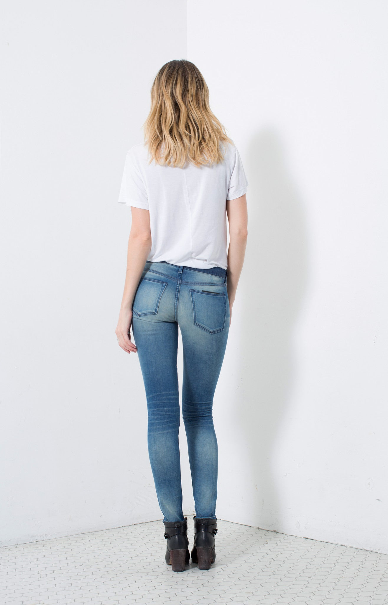 MID RISE SKINNY in DOWNING | MADE TO ORDER