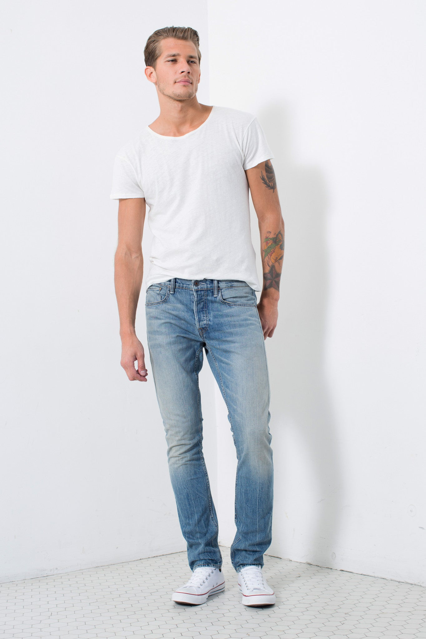 SKINNY FIT in DUSTY | MADE TO ORDER