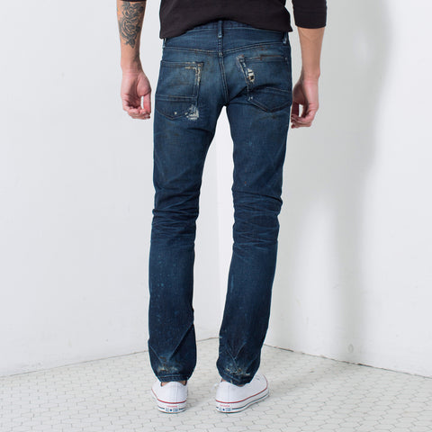 SLIM SELVAGE FIT in FITZPATRICK | MADE TO ORDER