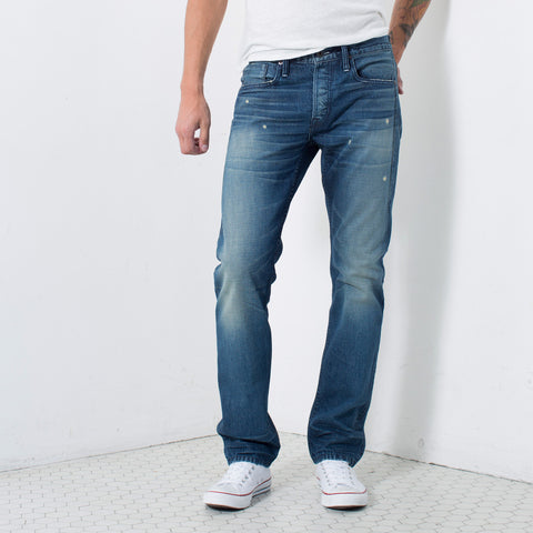 SELVAGE STRAIGHT FIT in HELIOS | MADE TO ORDER