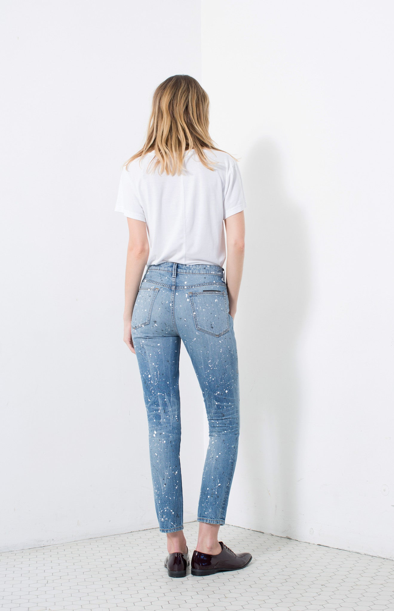 HIGH RISE SLIM in JACKSON | MADE TO ORDER
