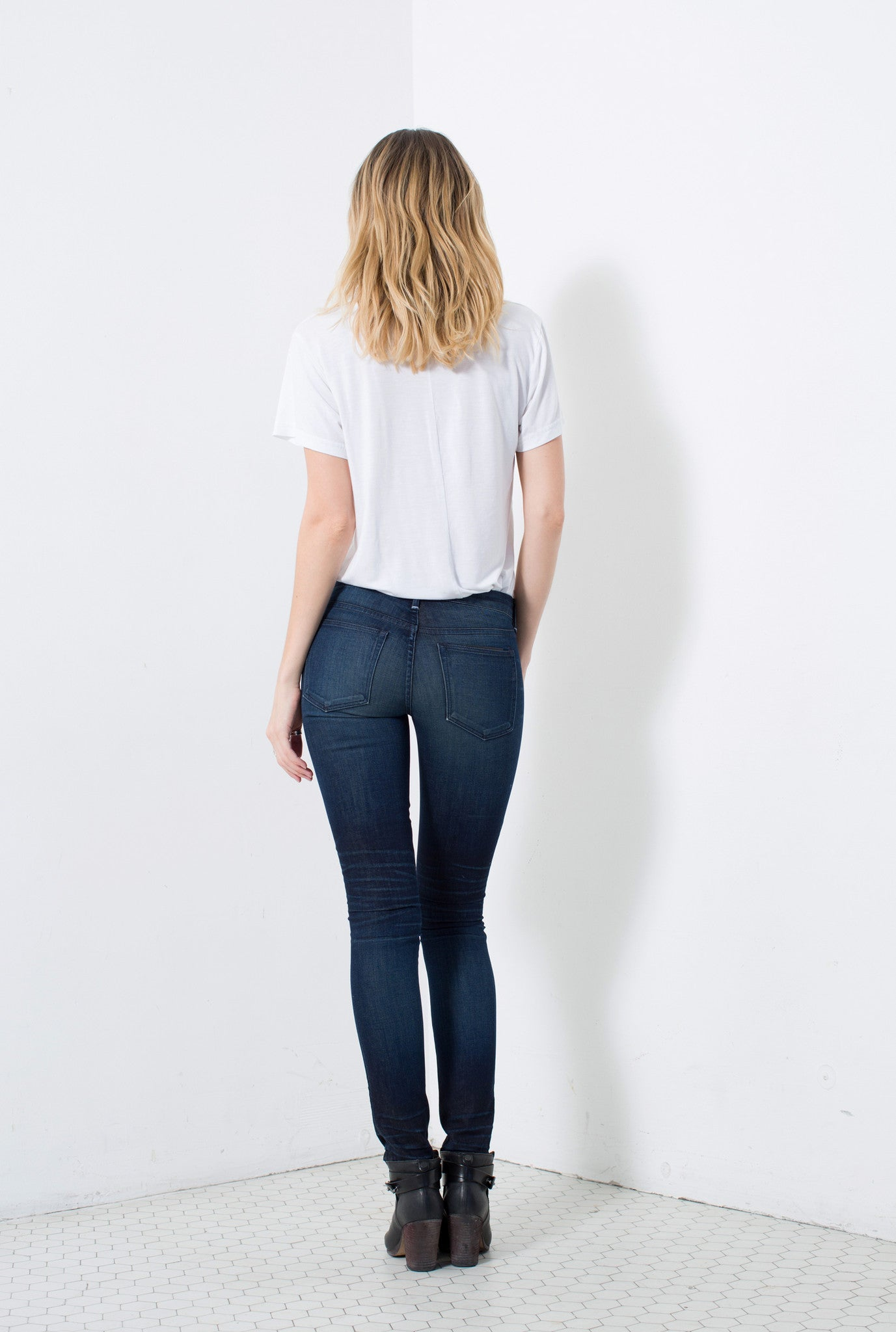 MID RISE SKINNY in MYLES | MADE TO ORDER