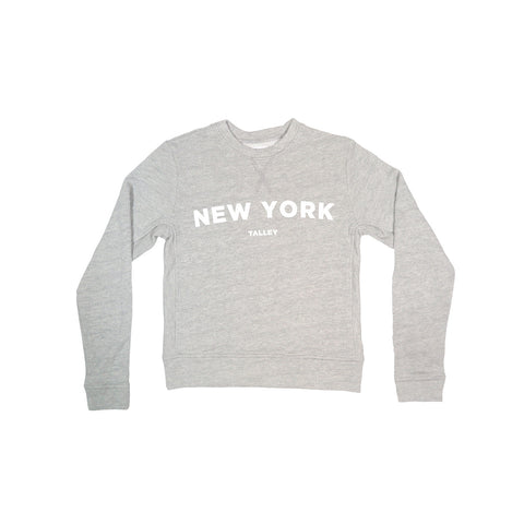 WOMEN'S HEATHER NEW YORK PUFF PRINT | Instantly Available