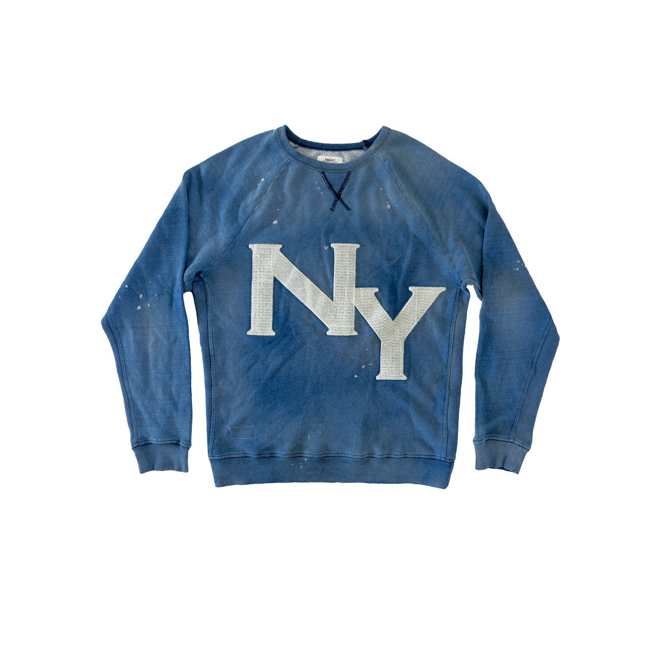 NY MEN'S INDIGO SWEATSHIRT | Instantly Available