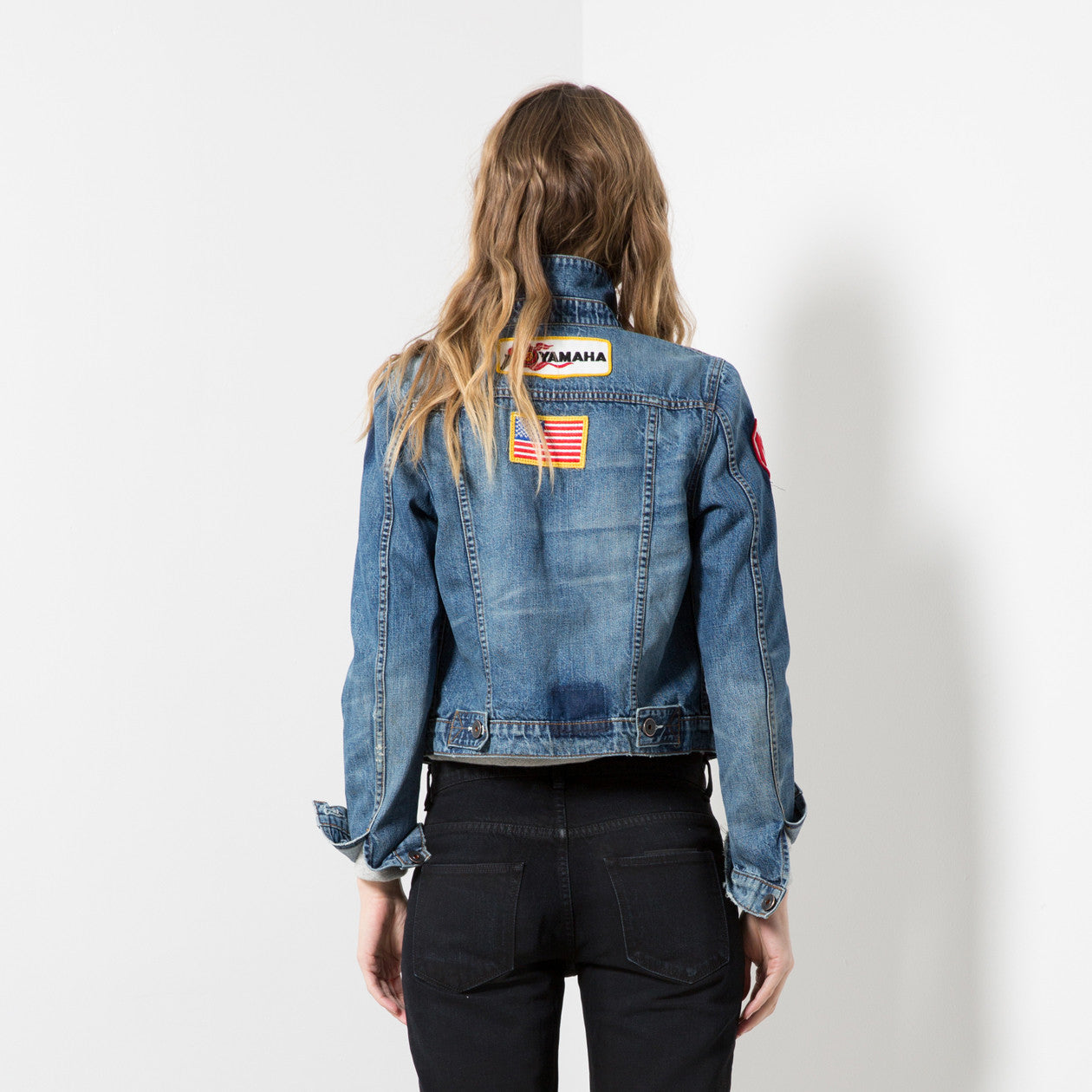 CLASSIC JACKET in PATCHED | MADE TO ORDER