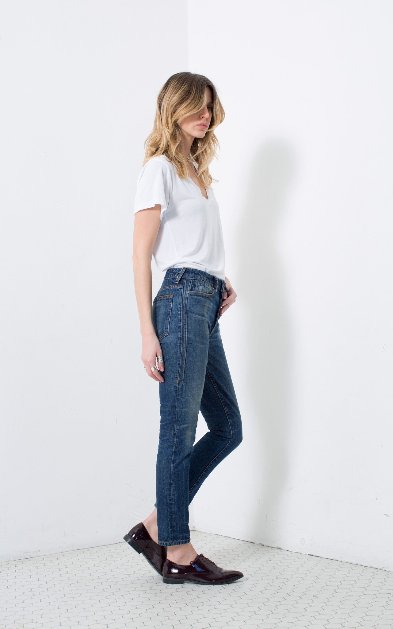 HIGH RISE SLIM in QUINN | MADE TO ORDER